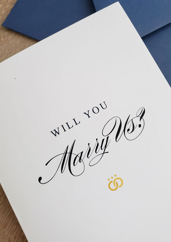 Will You Marry Us Package