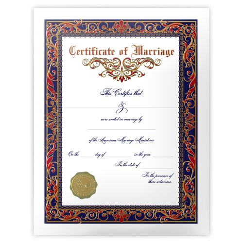 Marriage certificate 1 main