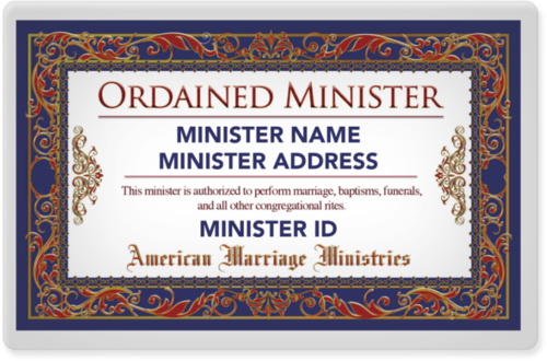 Classic Minister Wallet ID