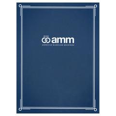 Imperial Blue Certificate Holder