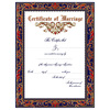 Personalized 'Traditional' Marriage Certificate