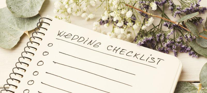 Westworld Wedding Checklist