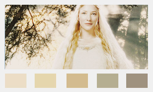 Lord of the Rings Wedding Colors