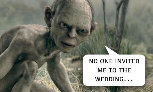 Lord of the Rings Wedding Visual