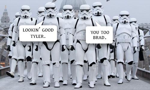 Star Wars Wedding Groom