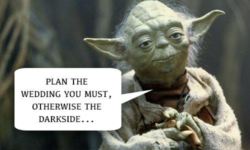Star Wars Wedding Planner
